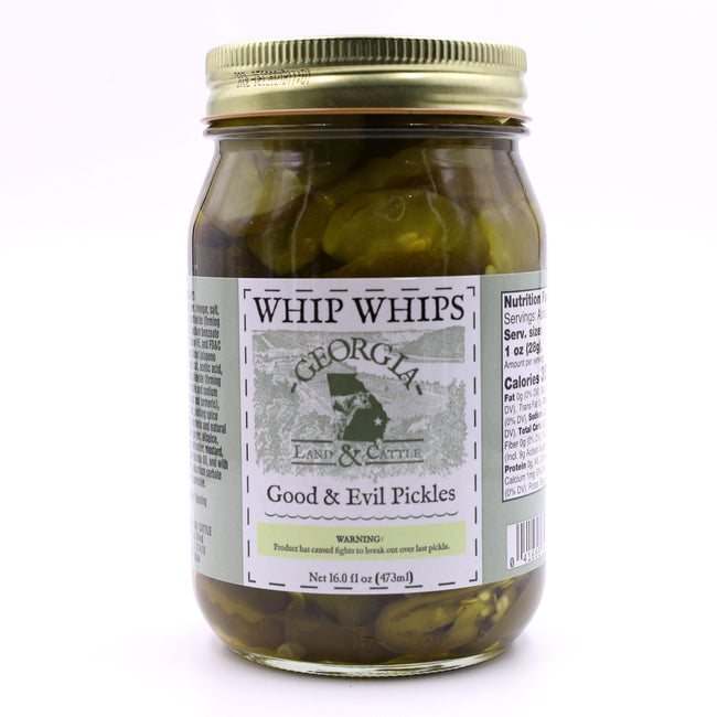 GL&C - Whip Whip's Good & Evil Pickles - A Southern Lifestyle Co.