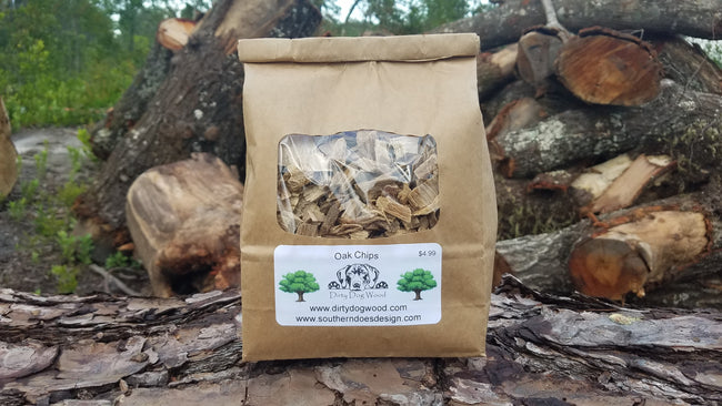 Whiskey Barrel Smoker Chips - A Southern Lifestyle Co.