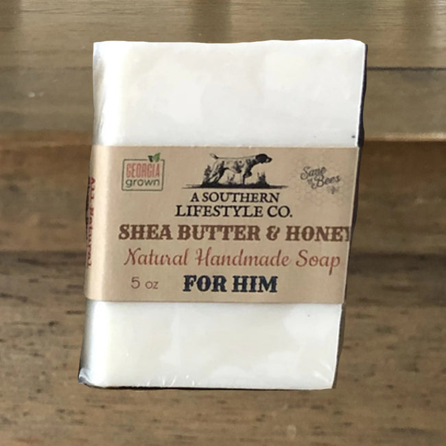 Handmade Shea Butter & Honey Soap - A Southern Lifestyle Co.