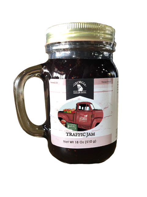 18oz Jelly in Reusable Handled Glass Mug
