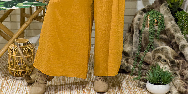 How to style your palazzo pants