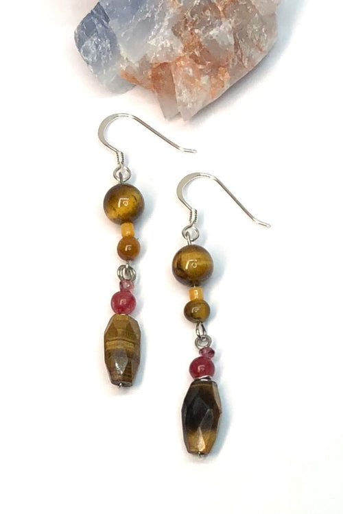 Earrings Samara Tigers Eye