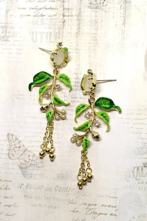 Earrings Magic Tree
