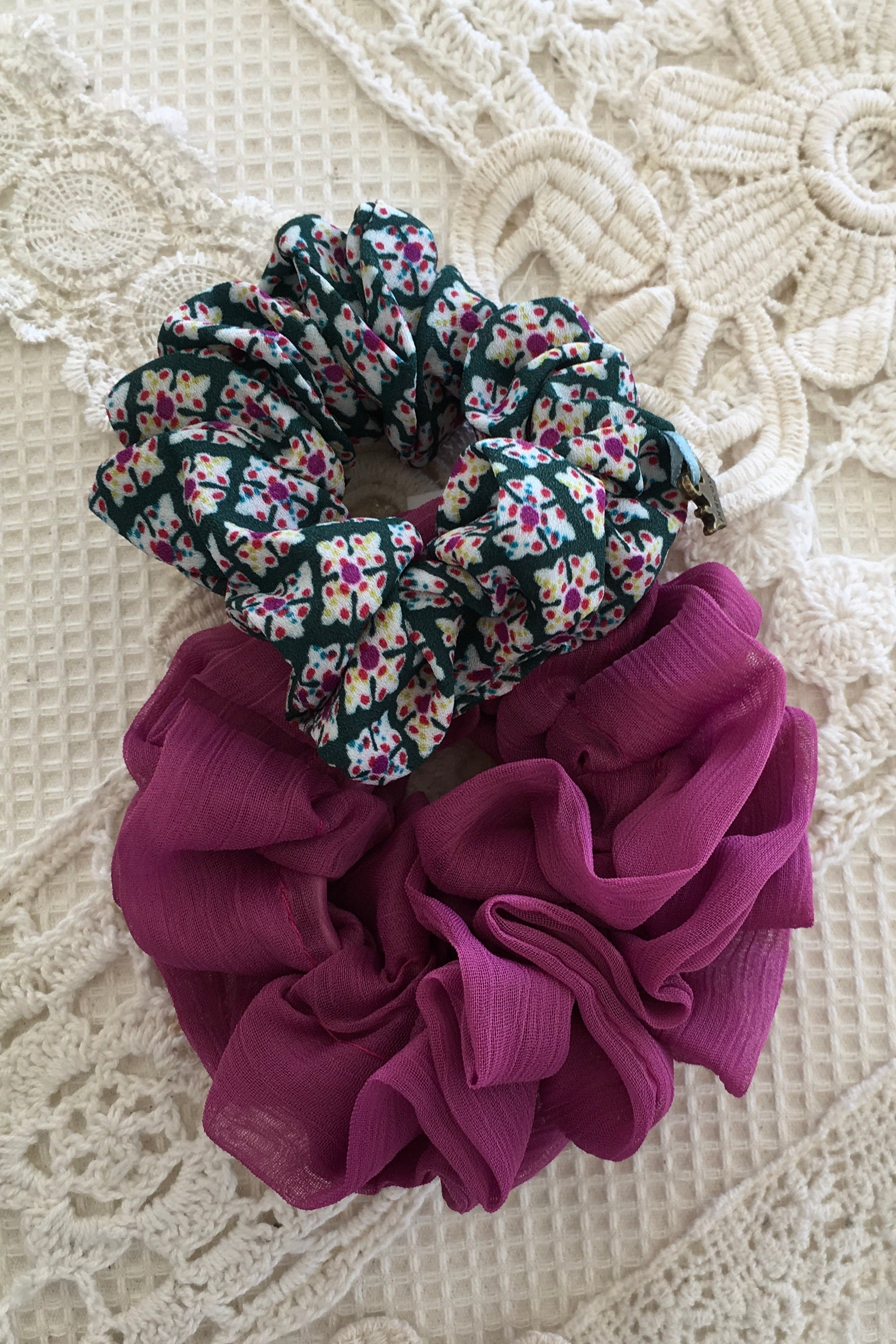 Scrunchie Set Pretty Print and More
