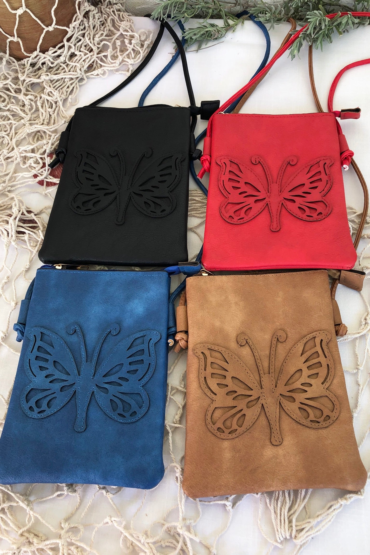 Bag Yeah Butterfly in Black, Blue, Red and Gold