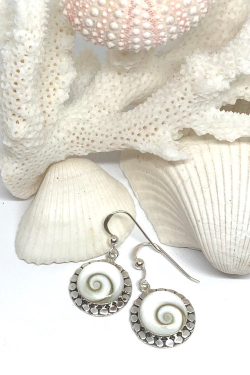 Earrings Cay Shiva Shell Fancy