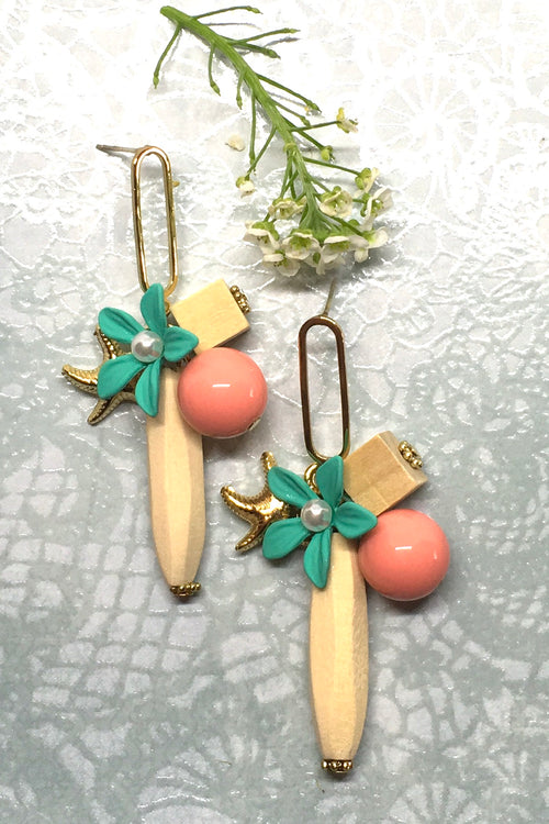 Earring Summer Sea Colours