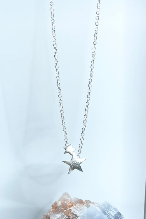Necklace Tiny Stars Silver