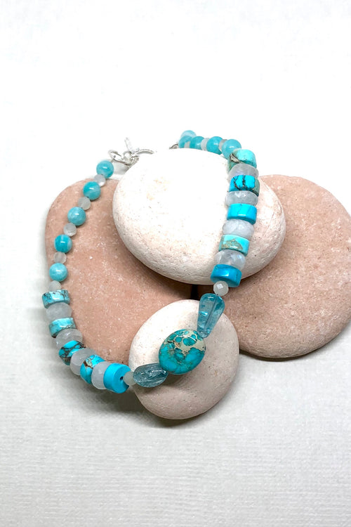 Bracelet Cay Skies Natural Gemstone