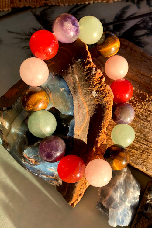 Bracelet Paloma Gemstone Stretch Many colours