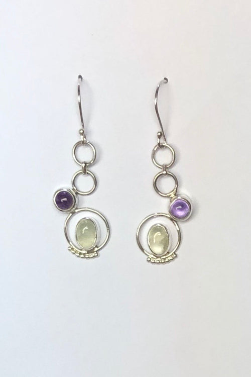 Oracle Earrings Hoopla Circles