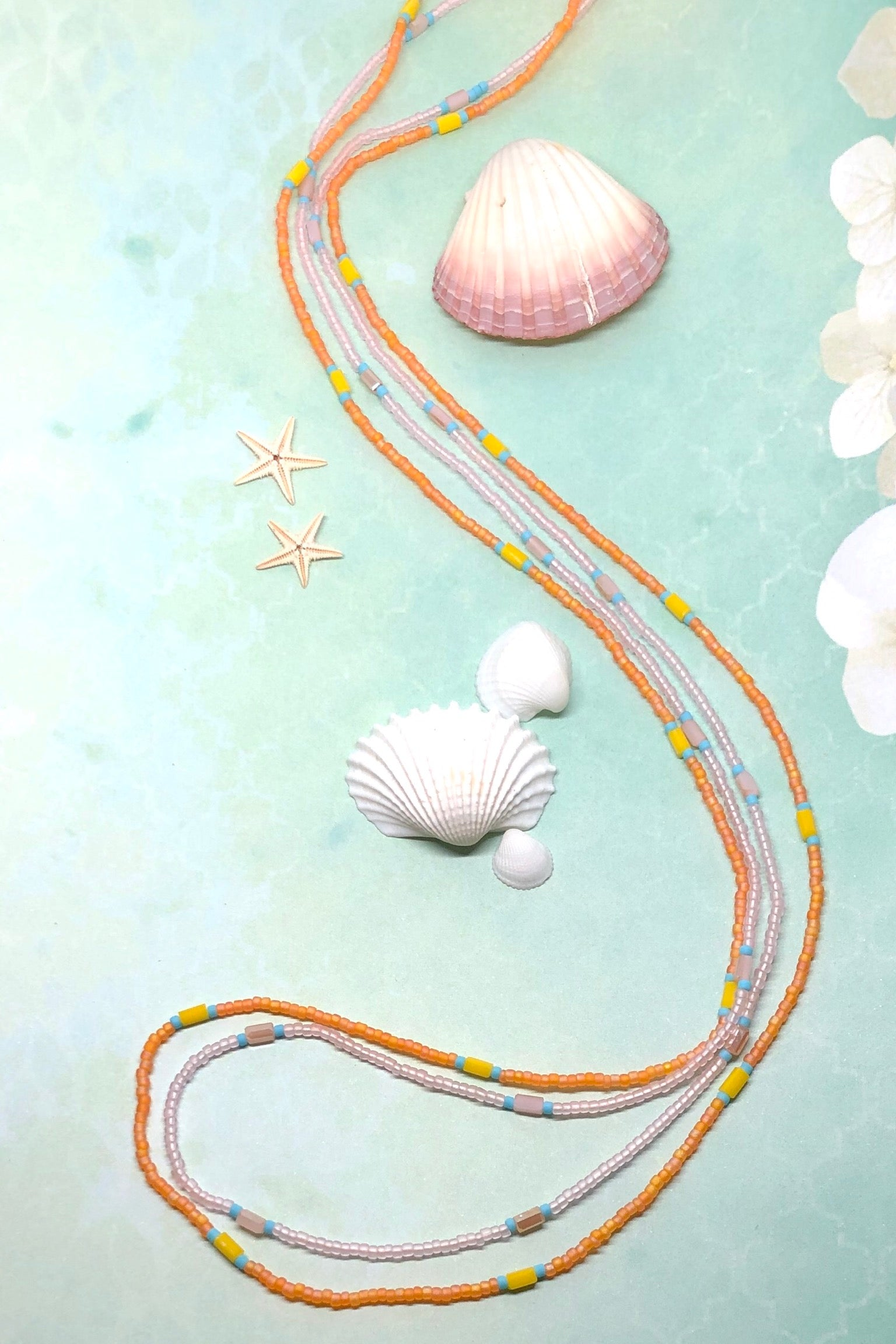 Necklace Sea Beads Strands