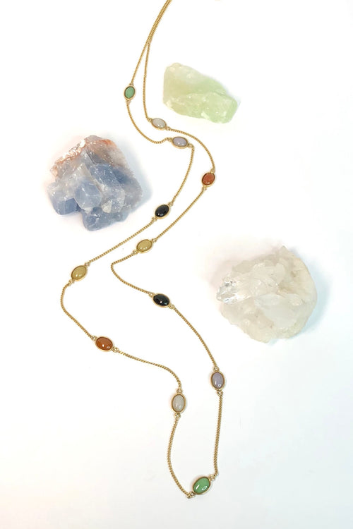 Echo Jade Chain Necklace