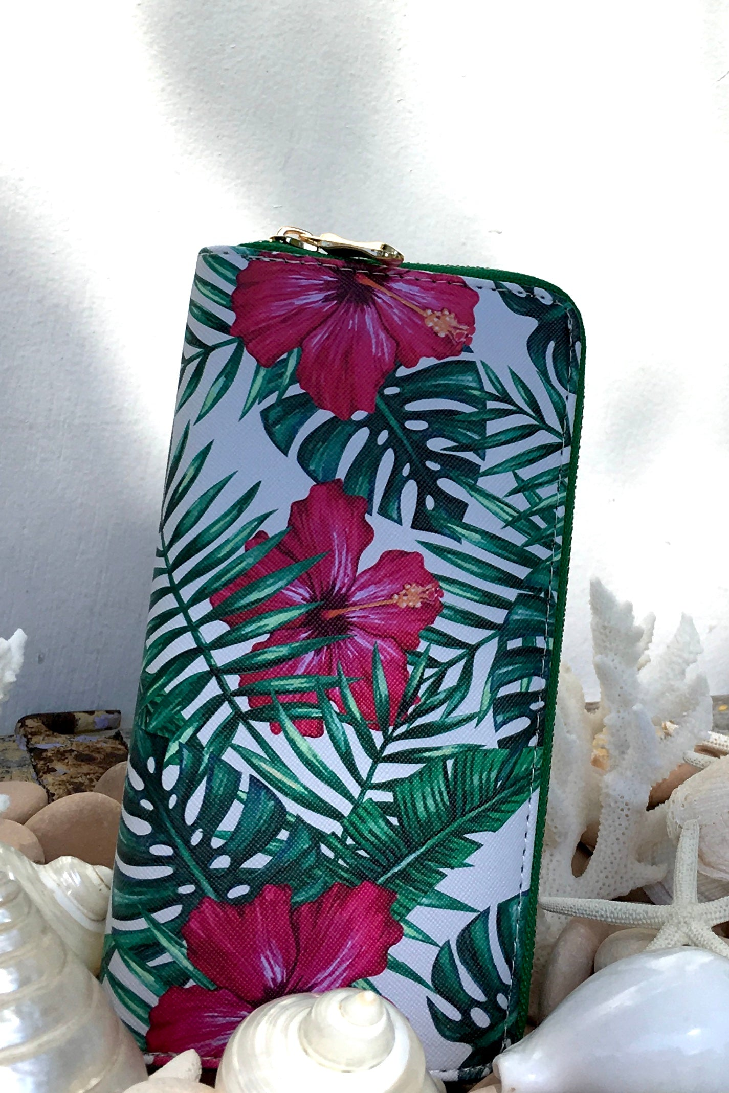 Yeah Wallet Jungle Flower