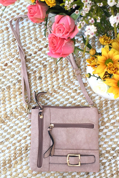 Bag Yeah Cross Body in Blush