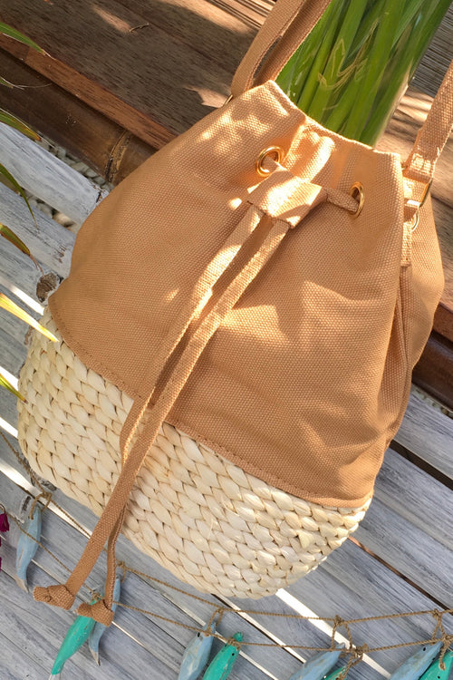 Bag Lillie Canvas Bucket Tan