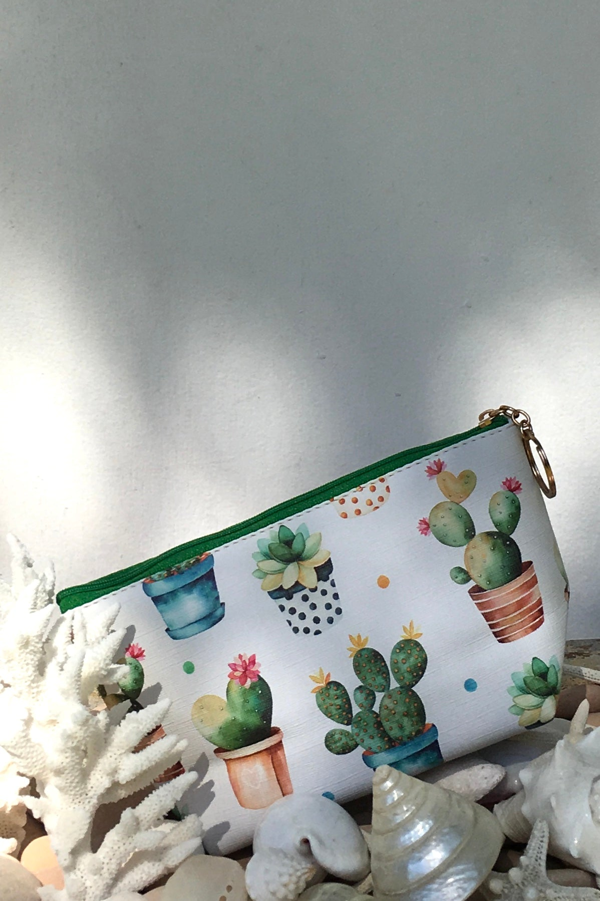 Yeah Cosmetic Purse Succulents