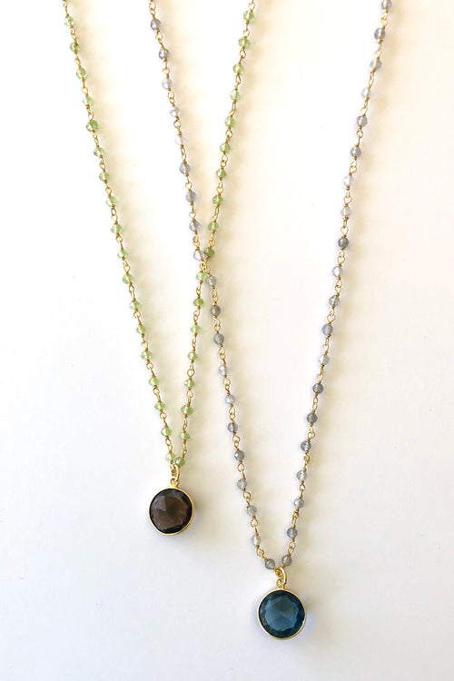 Oracle Venezia Necklace Round