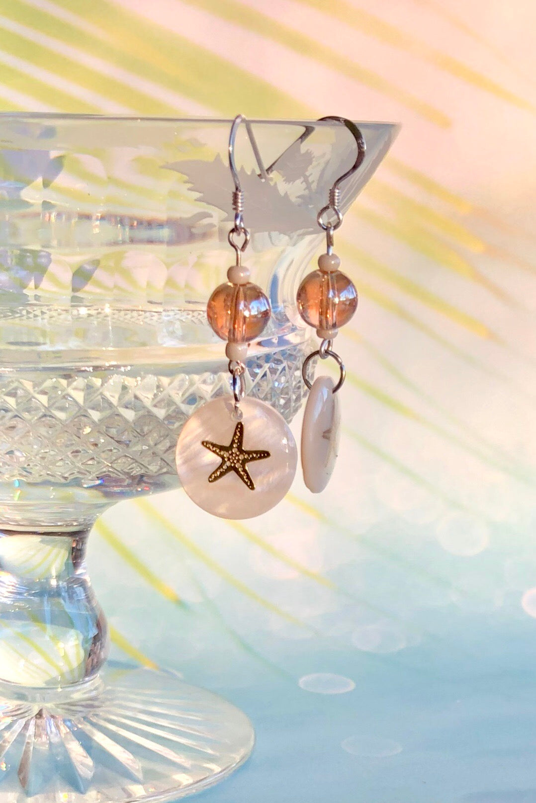 Earrings Serendipity Starfish Gold