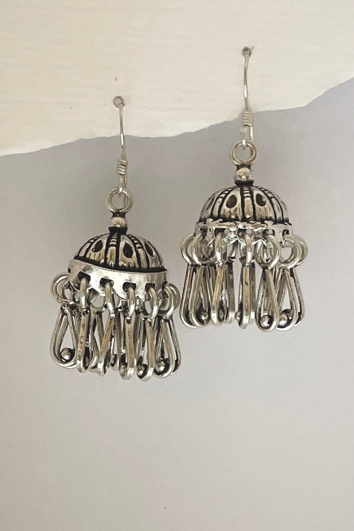 silver tassel earrings! Made of 925 silver