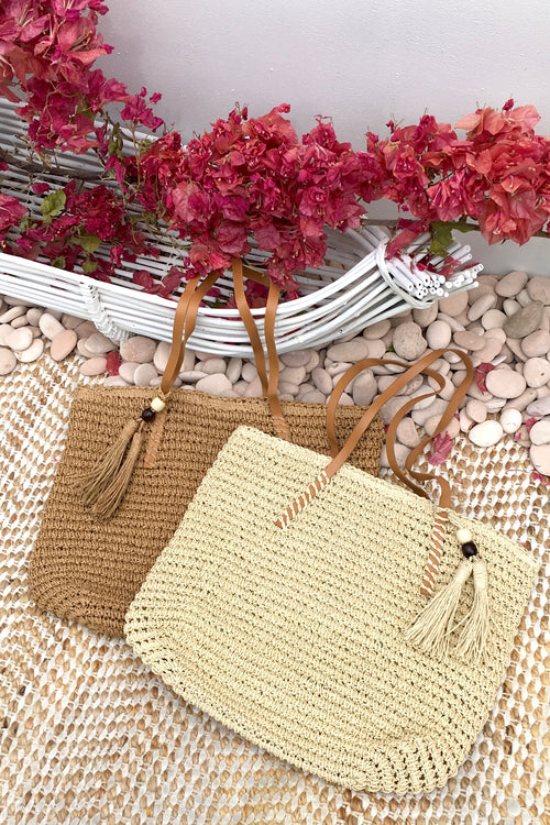Bag Lillie Moda Stitch Cream and Biscuit Colour