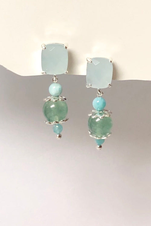 Earrings Serendipity Seafoam