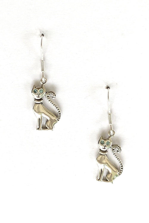 Oracle Silver Earrings Catty in 925 Silver