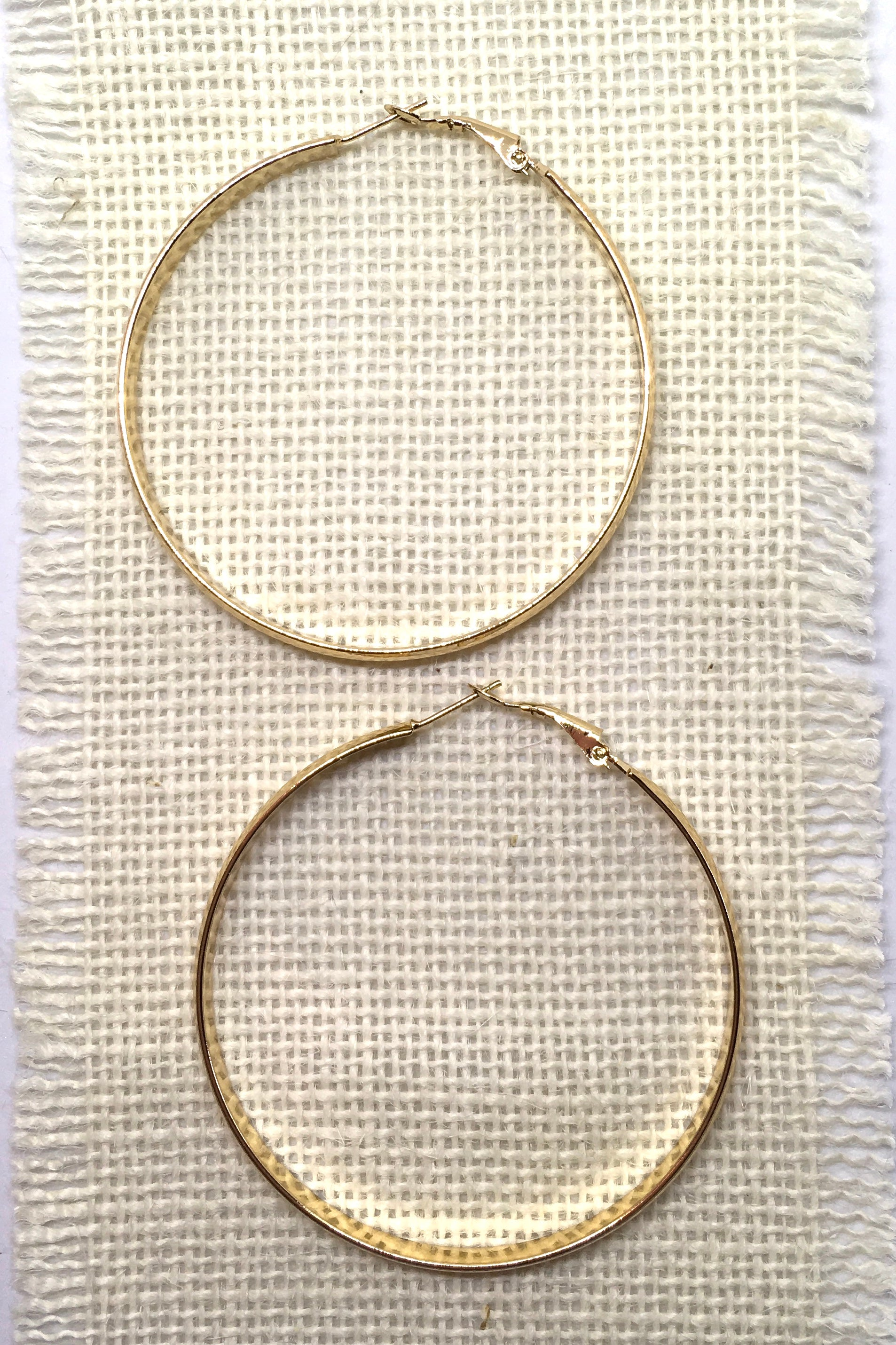 Earrings Hoop Chic Gold Large
