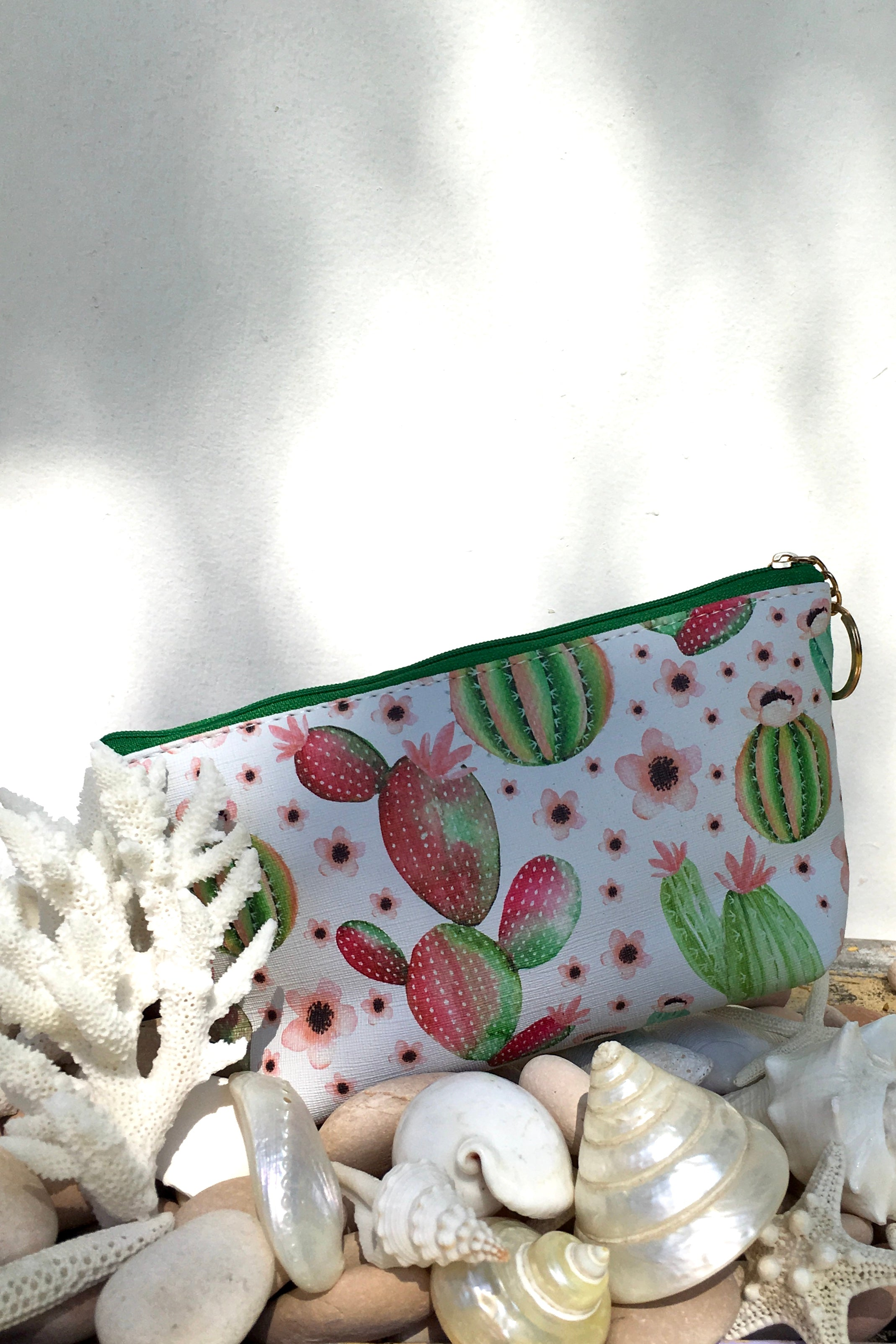 Yeah Cosmetic Purse Cactus