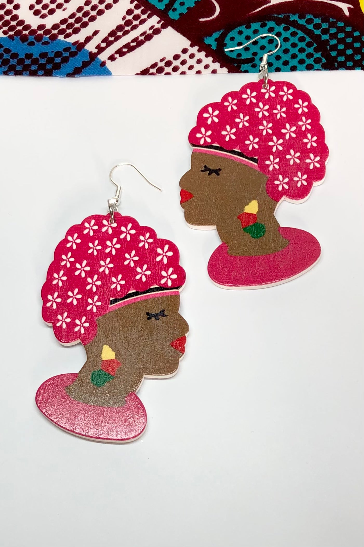 Our earrings Zulu Lulu Blue are a joyous nod to our African roots.
