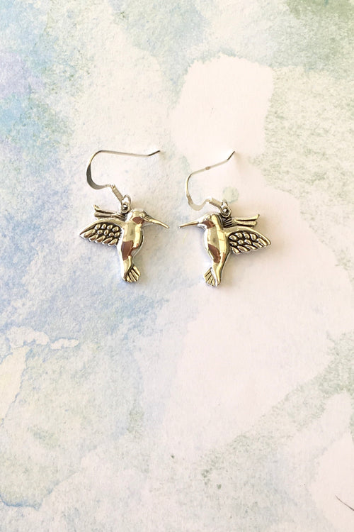 Oracle Earrings Hummingbird