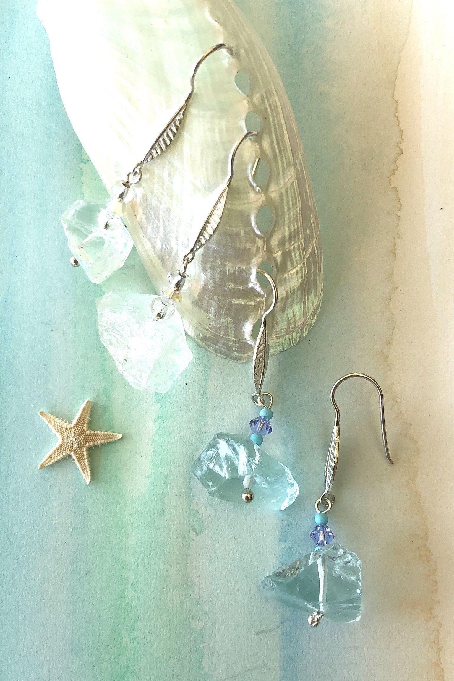 The Earrings Rock Opera Rough are the boho luxe earrings you need.