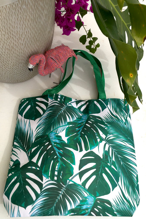Tote Bag Leafy Green