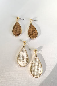 Earring Summer Weave Raindrops