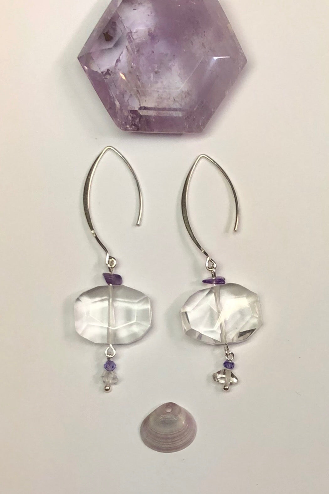 Serendipity Blue Rock are designed to sparkle like a turning wave. A drop design, with the sparkle of crystal.