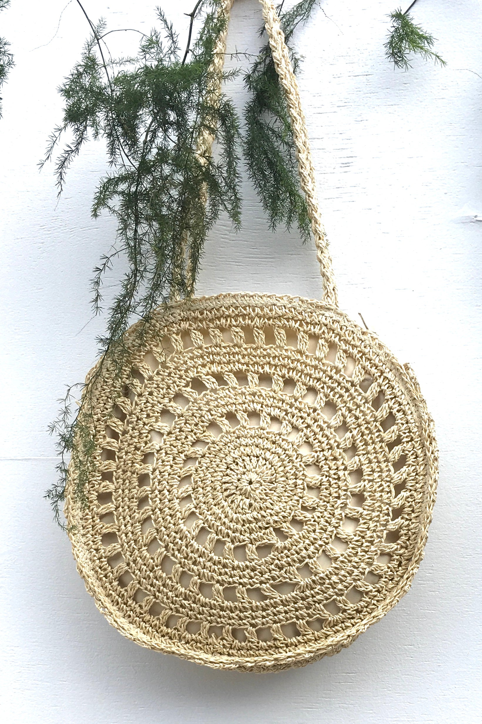 Bag Lillie Wheels in Cream