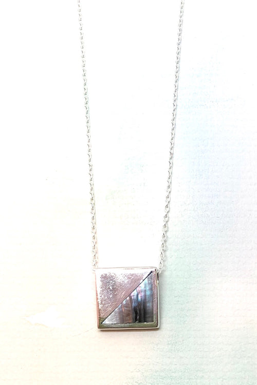 Echo Square Slider Pendant