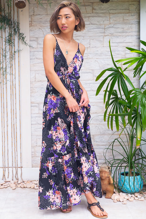 Adoro Mermaid Noir Maxi Dress