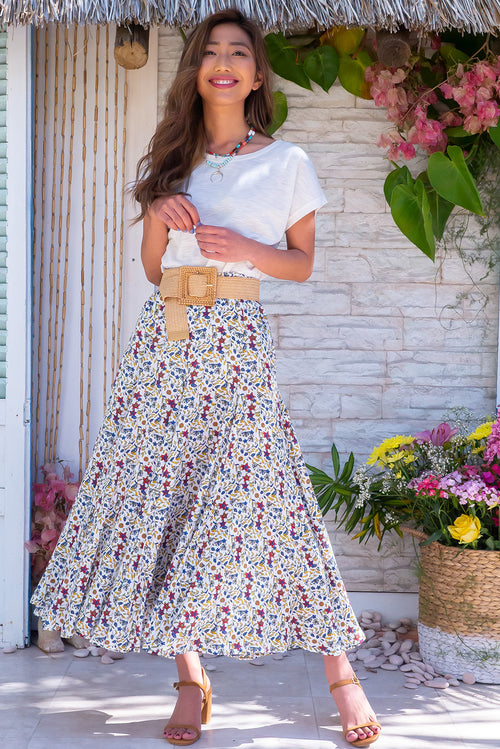 Avalon Bright White Skirt