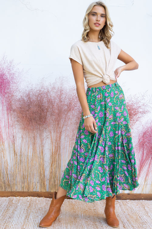 Avalon Gandalf Green Skirt