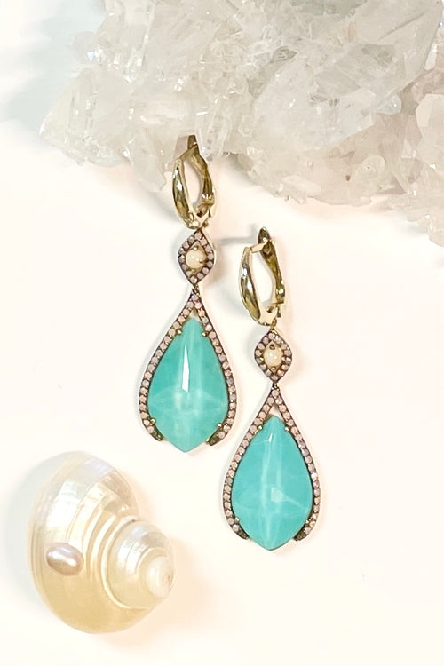 Earrings Contessa Turquoise Delphine