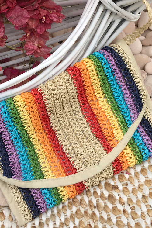 Bag Lillie Grass Rainbow