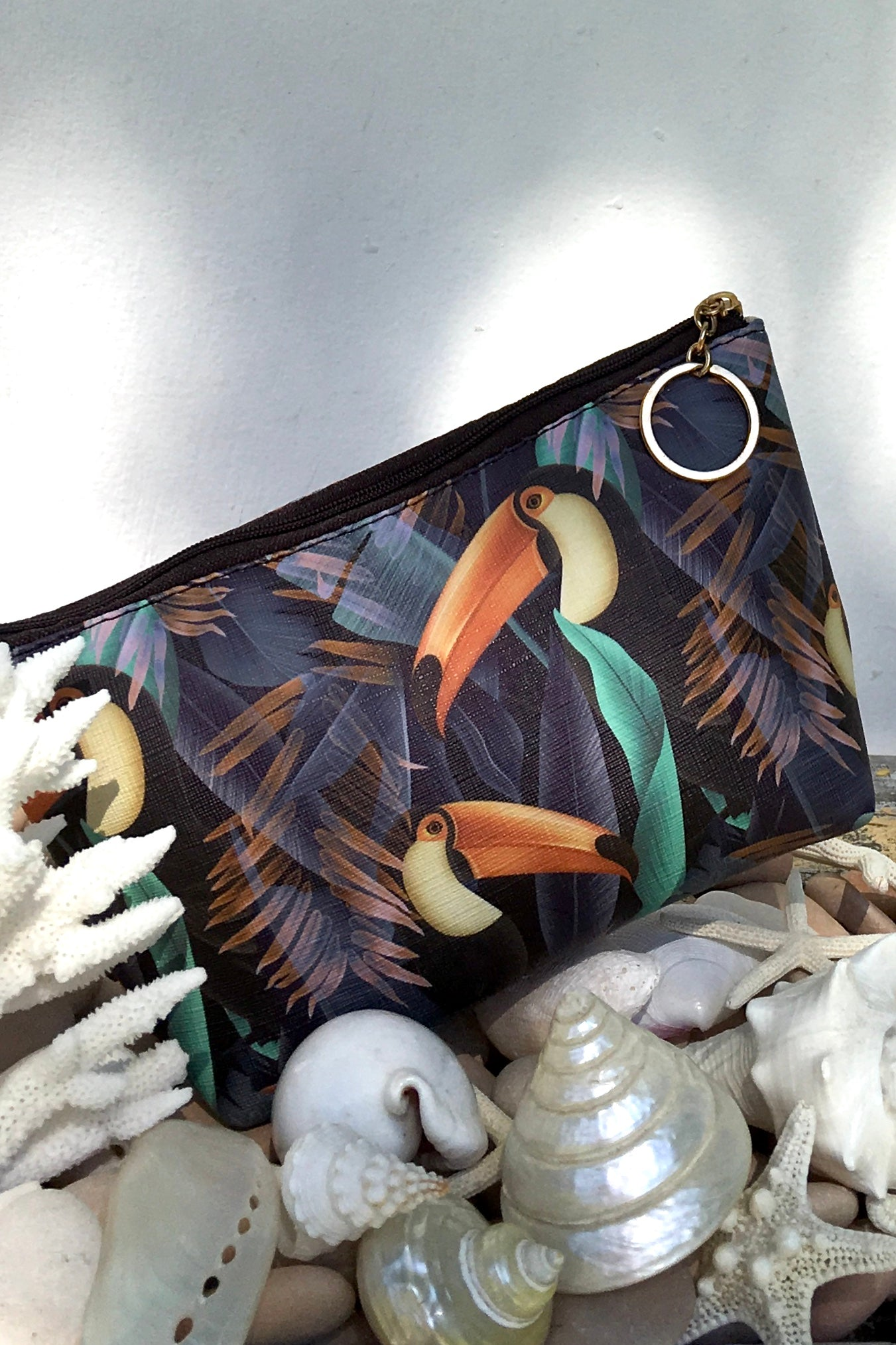 Yeah Cosmetic Purse Toucan