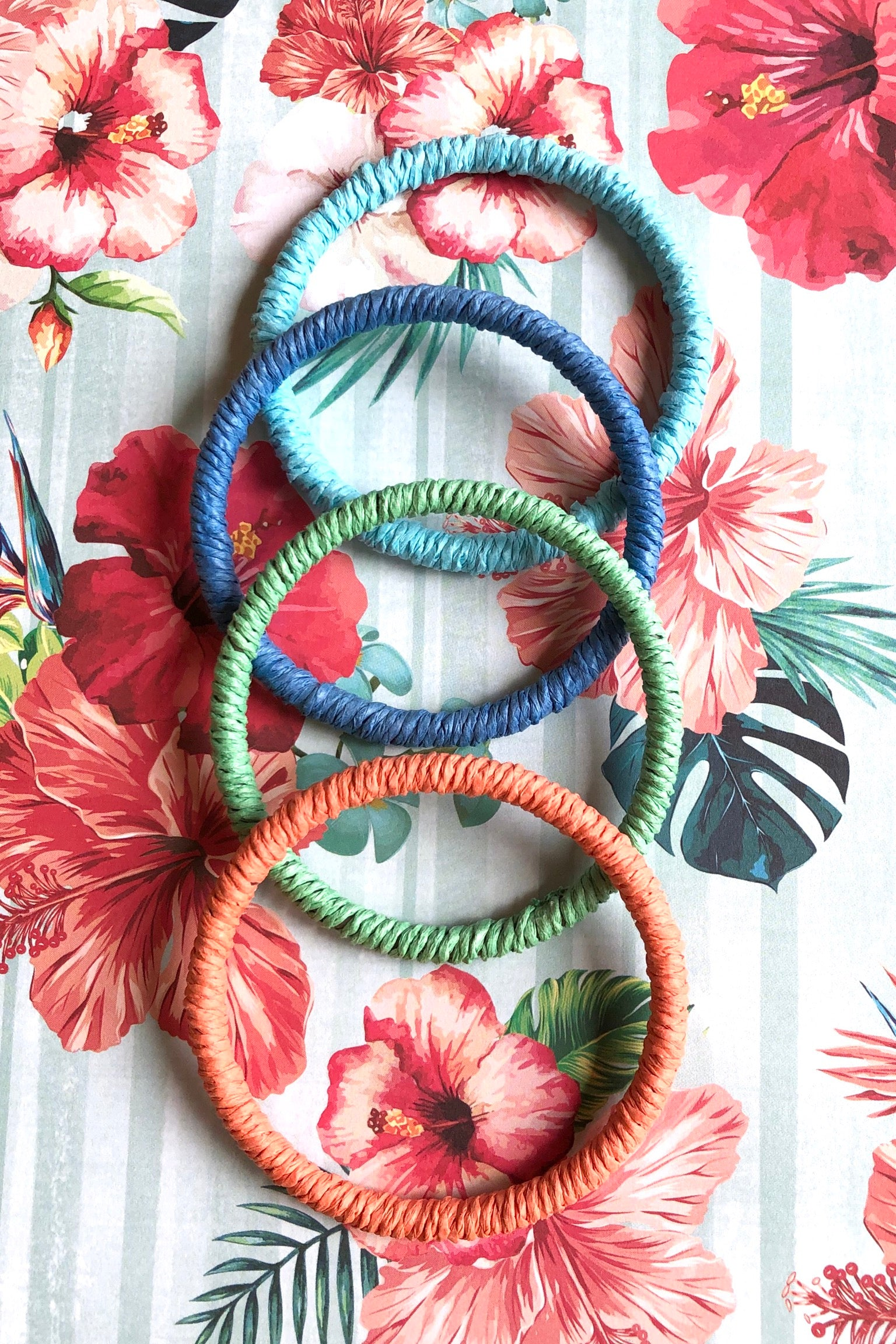 Bangle String Nature Colours