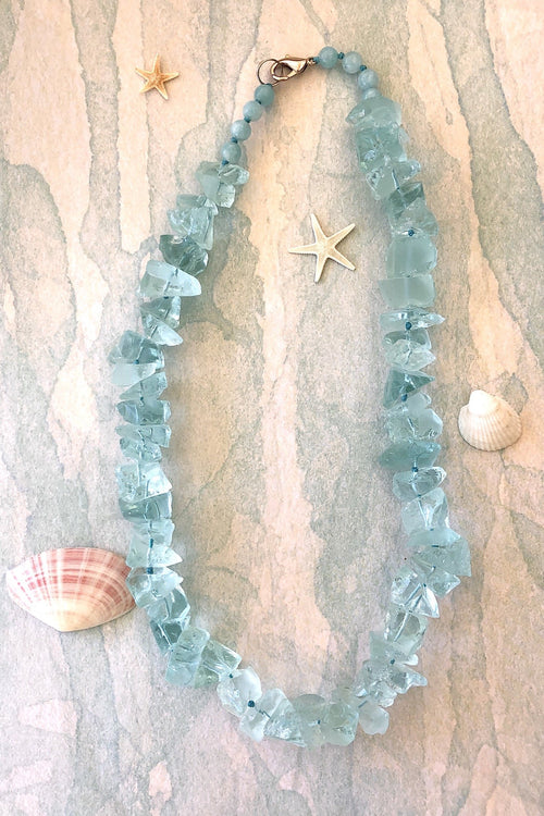 Necklace Rock Opera Aqua