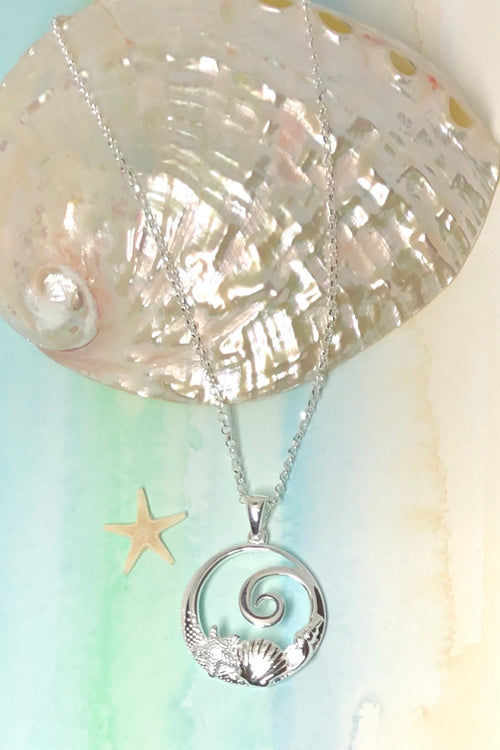 Oracle Pendant Sea Shell Wave
