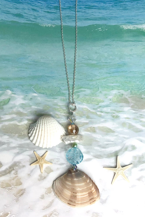Pendant Cay Noosa Shell and Pearl