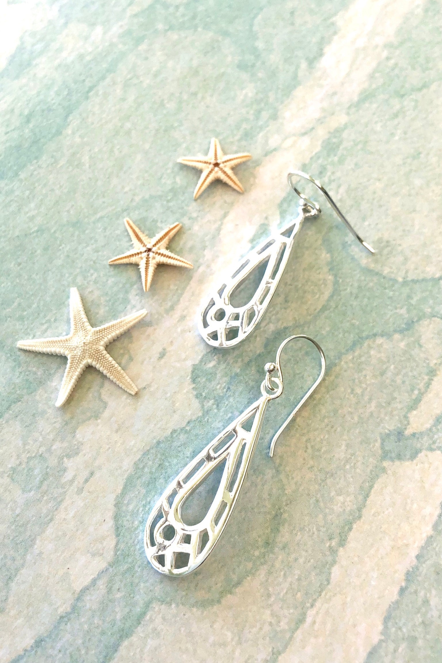 bohemian inspired earrings are the perfect shape and style for summer