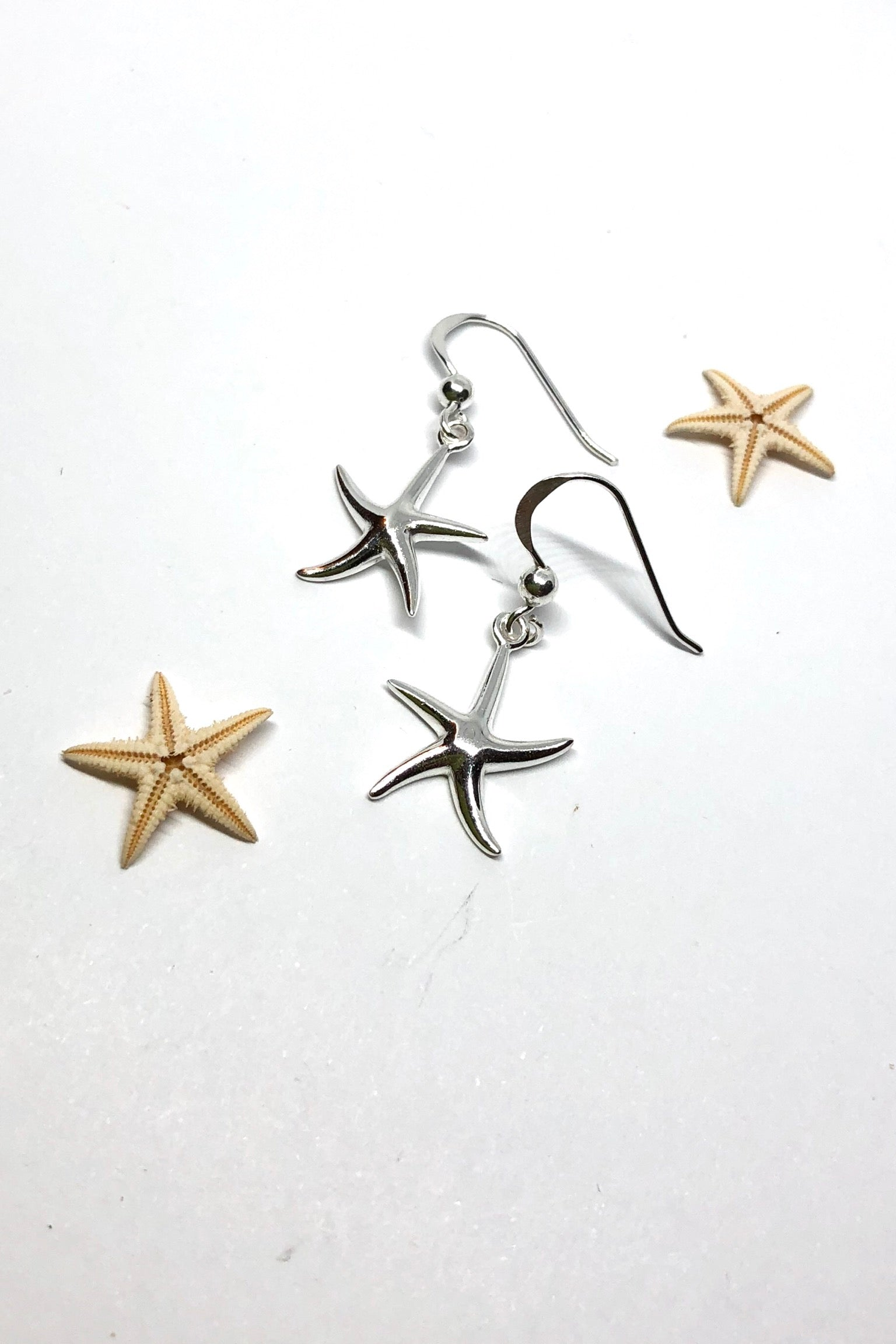 Earrings Cay Starfish Sublime in Silver