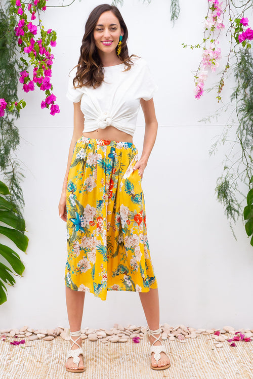 Bahama Skirt Sunshine Yellow